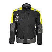 Projob Jacket Unlined with Fluo Shoulders Cotton